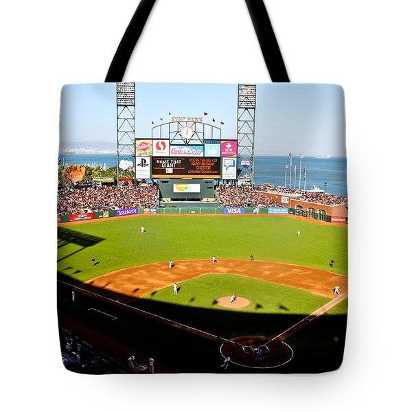 Att Park San Francisco  Tote Bag by John McGraw