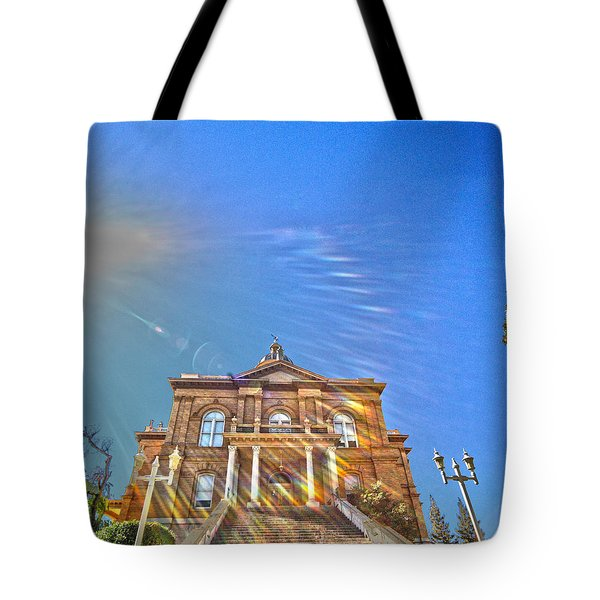 Auburn Courthouse 2 Tote Bag by Cheryl Young