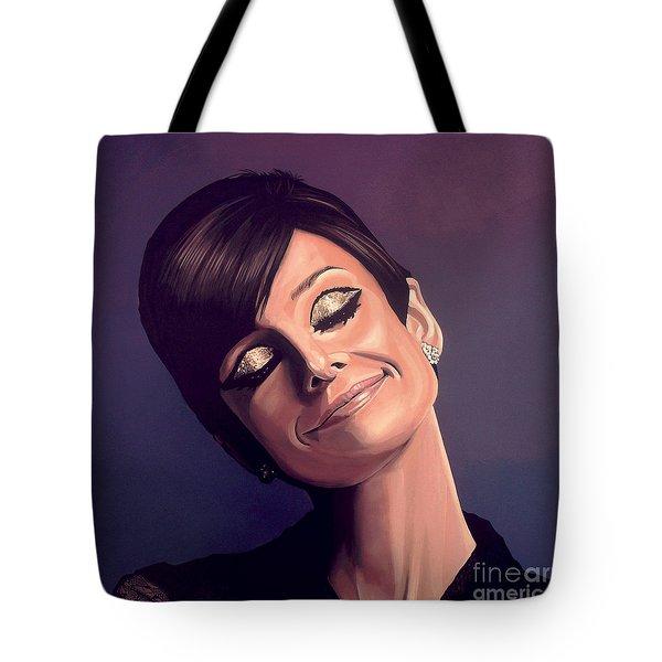 Audrey Hepburn Tote Bag by Paul  Meijering