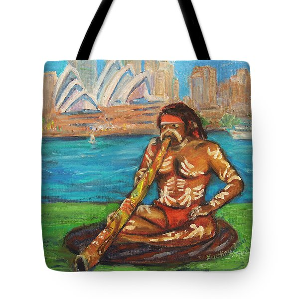 Aussie Dream I Tote Bag by Xueling Zou