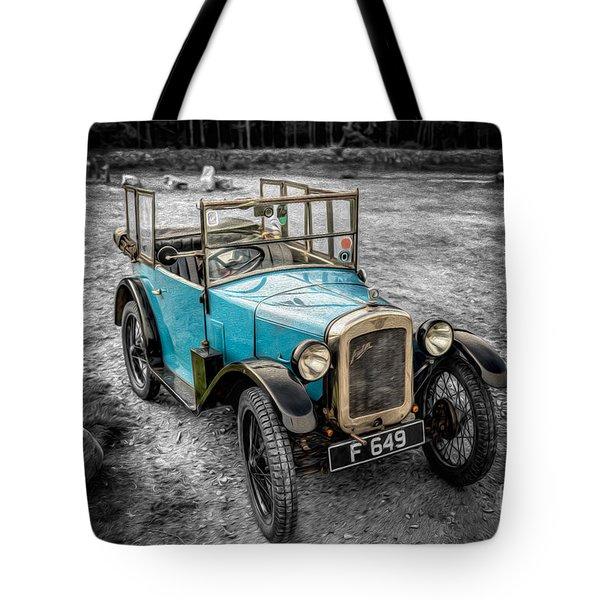 Austin 7 Tote Bag by Adrian Evans