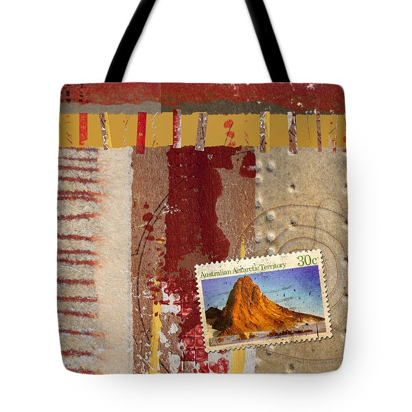 Australia Antarctic Territory Tote Bag by Carol Leigh