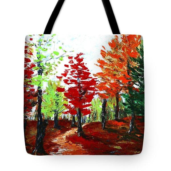 Autumn Tote Bag by Anastasiya Malakhova