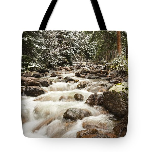 Autumn At Gore Creek - Vail Colorado Tote Bag by Brian Harig