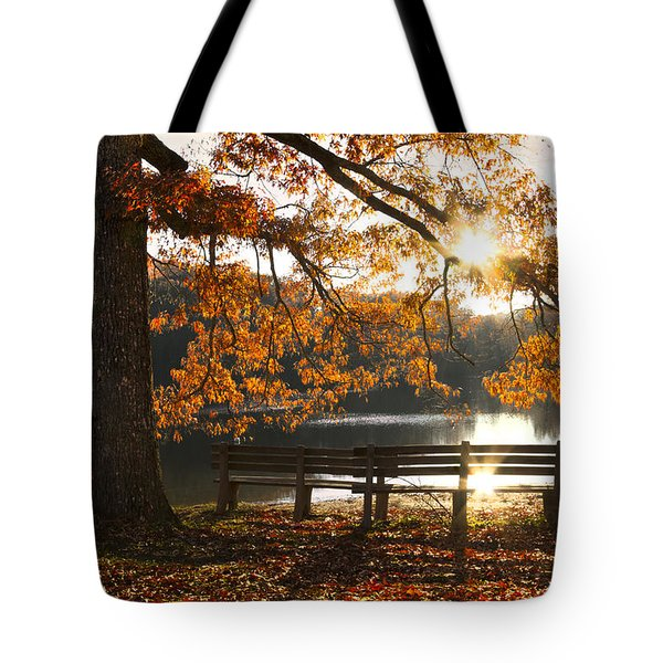 Autumn Beauty Tote Bag by Debra and Dave Vanderlaan