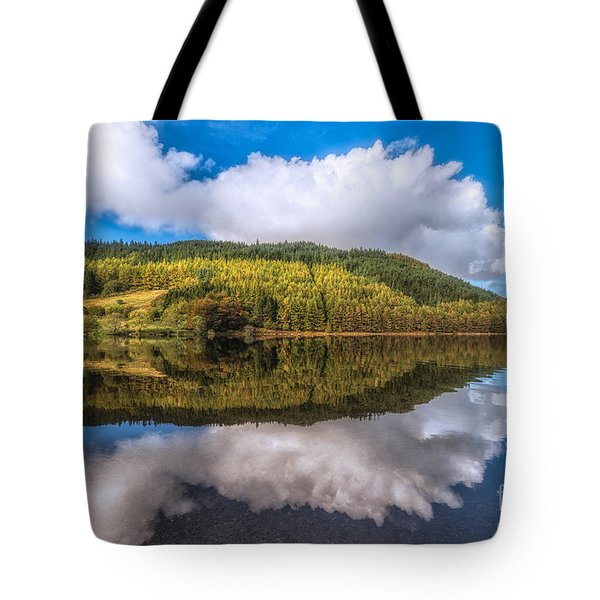 Autumn Clouds Tote Bag by Adrian Evans