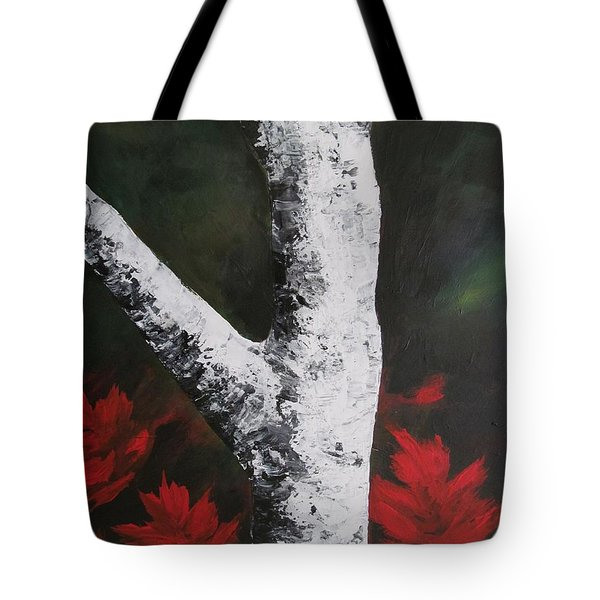 Autumn Dance Tote Bag by Beverly Livingstone