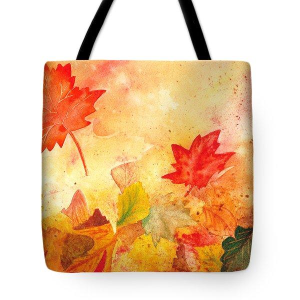Autumn Dance Tote Bag by Irina Sztukowski