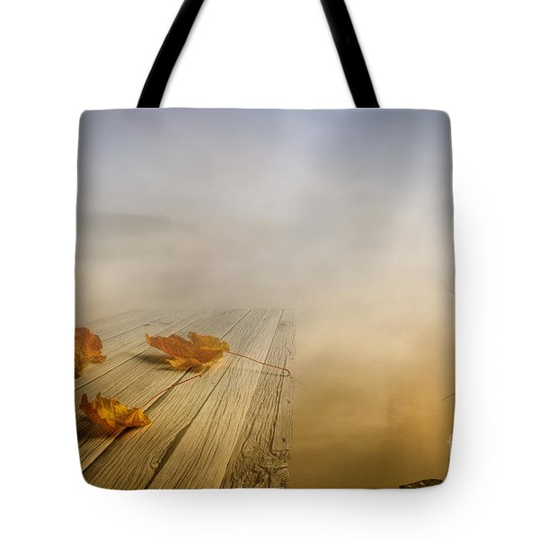 Autumn Fog Tote Bag by Veikko Suikkanen
