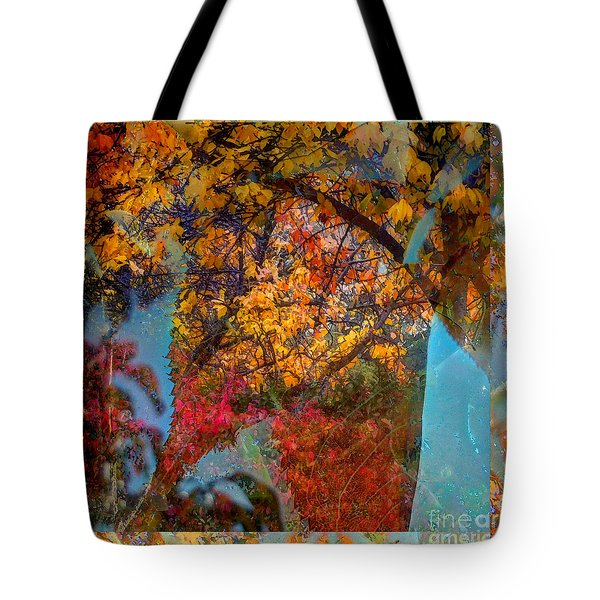 Autumn Fusion 5 Tote Bag by Jeff Breiman