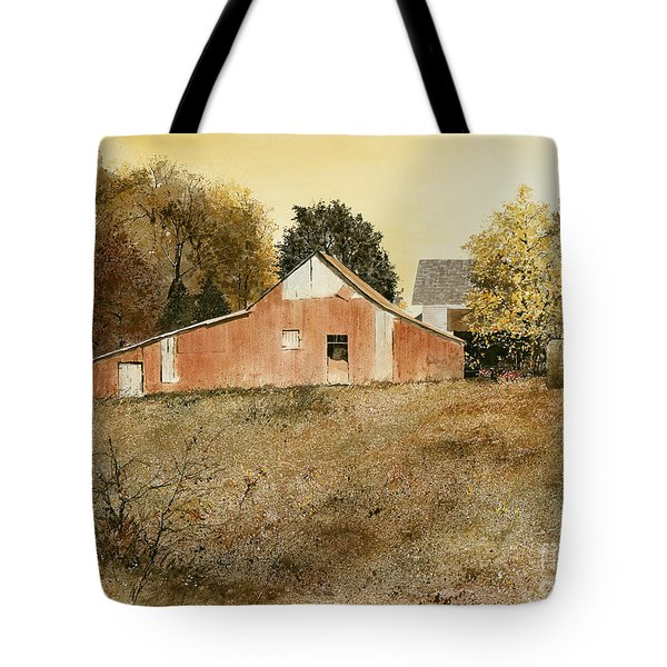 AUTUMN GLOW Tote Bag by Monte Toon