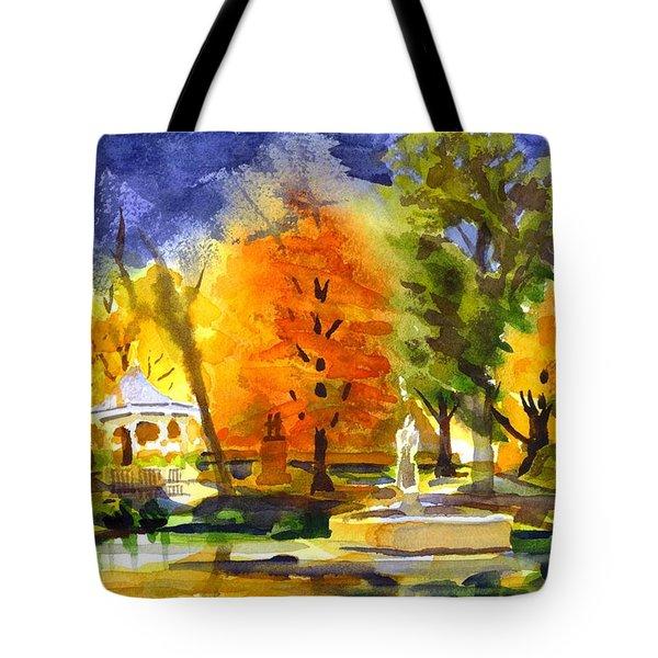 Autumn Gold 2 Tote Bag by Kip DeVore