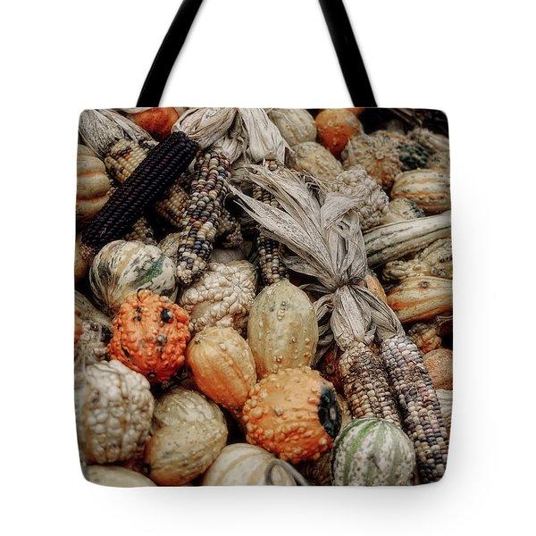 Autumn Gourds 2 Tote Bag by Joann Vitali