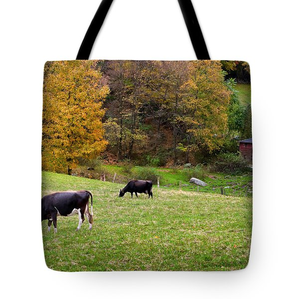 Autumn Graze Tote Bag by Bill  Wakeley