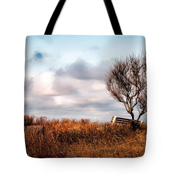 Autumn In Maine Tote Bag by Bob Orsillo