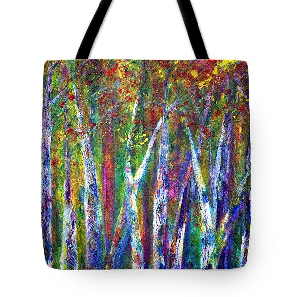 Autumn In Muskoka Tote Bag by Claire Bull