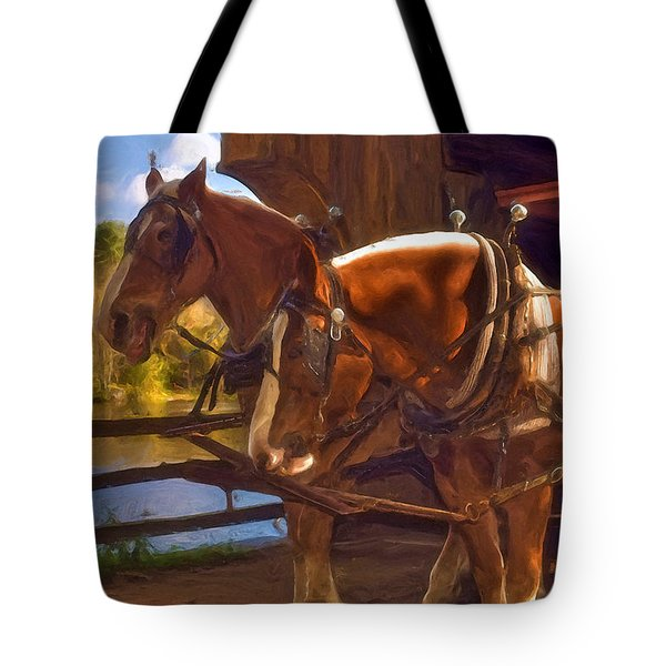 Autumn In Sturbridge Tote Bag by Joann Vitali