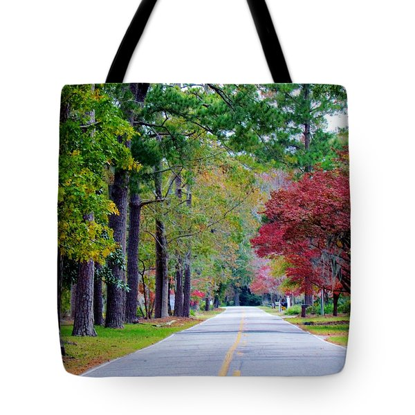 Autumn In The Air Tote Bag by Cynthia Guinn