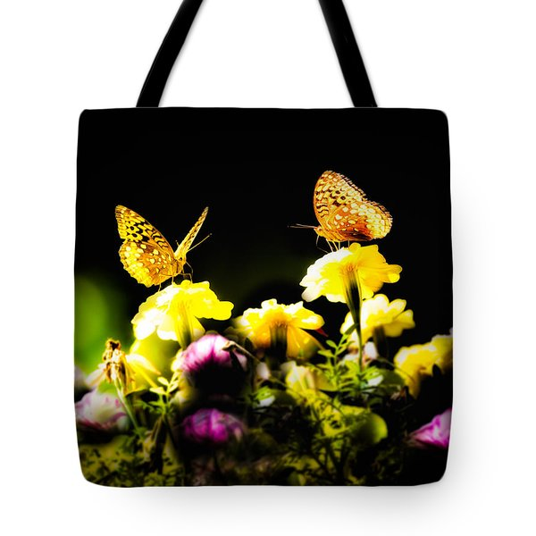 Autumn is when we first met Tote Bag by Bob Orsillo
