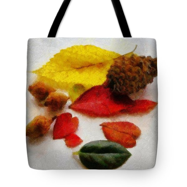 Autumn Medley Tote Bag by Jeff Kolker