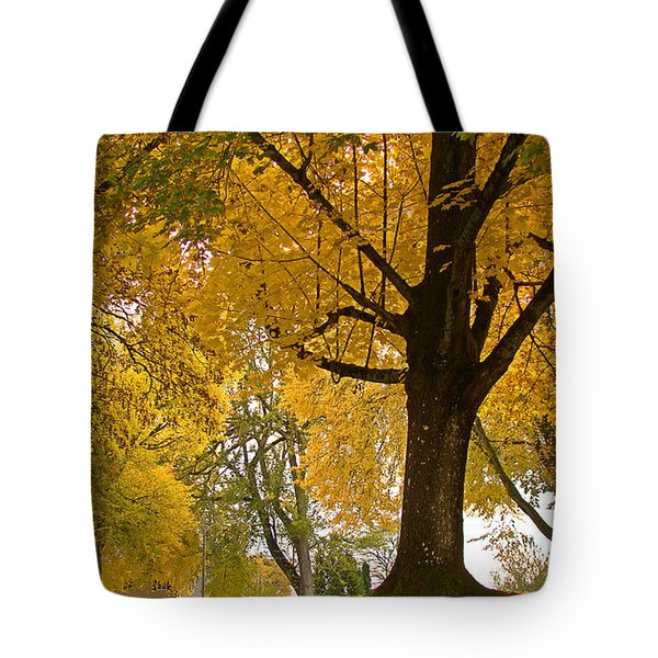 Autumn Memories Tote Bag by Beverly Guilliams