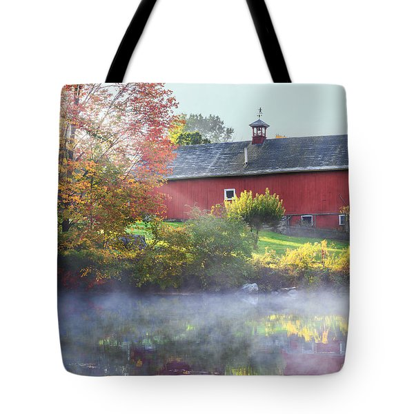 Autumn Morn Tote Bag by Bill  Wakeley