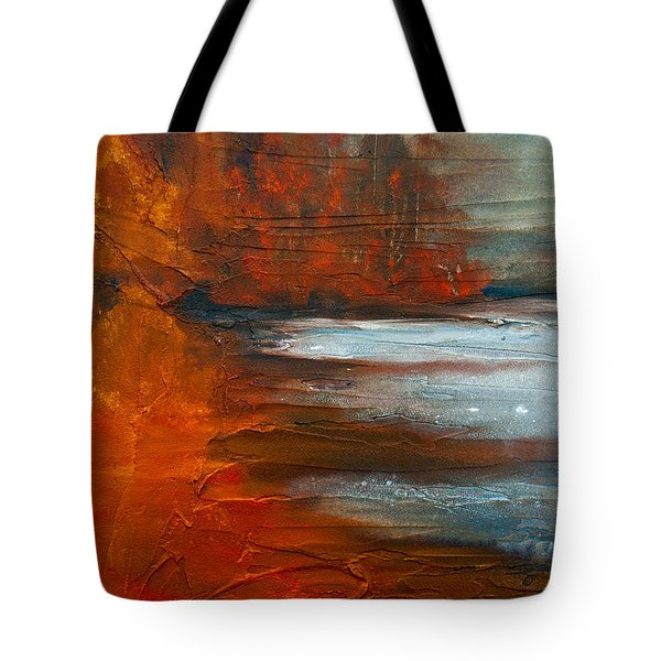 Autumn On The Sound Tote Bag by Jani Freimann