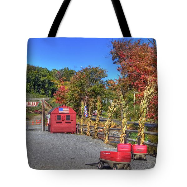 Autumn Orchard Tote Bag by Joann Vitali