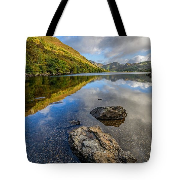 Autumn Reflection Tote Bag by Adrian Evans