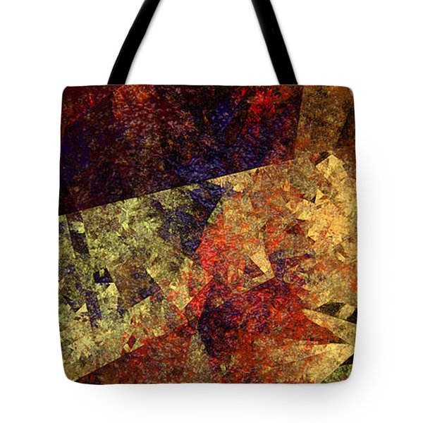 Autumn Road Tote Bag by Andee Design