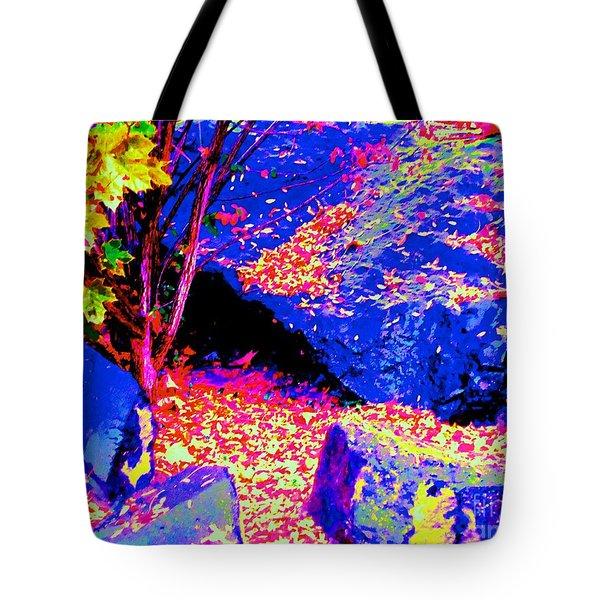 Autumn Rocks Tote Bag by Ann Johndro-Collins