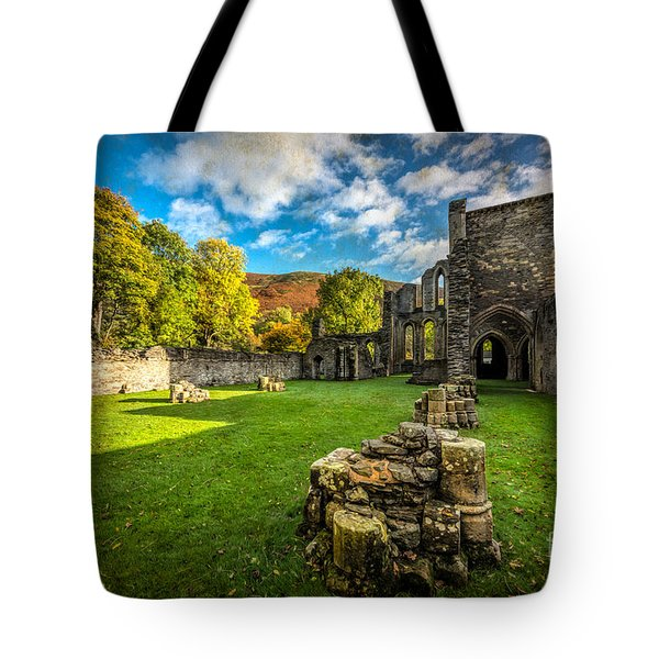 Autumn Ruins Tote Bag by Adrian Evans