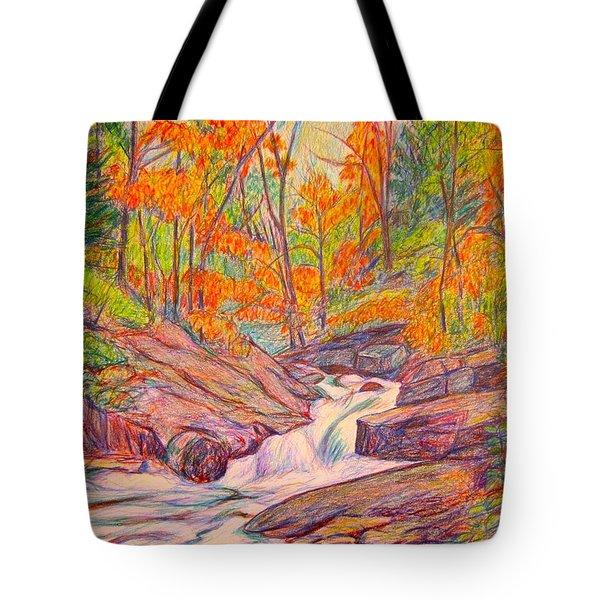 Autumn Rush Tote Bag by Kendall Kessler