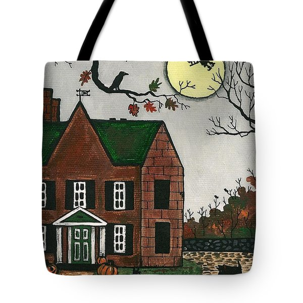 Autumn Scotties Tote Bag by Margaryta Yermolayeva