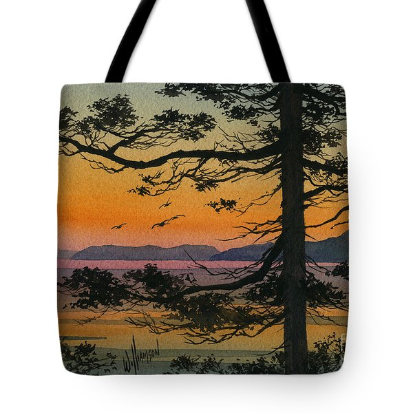 Autumn Shore Tote Bag by James Williamson