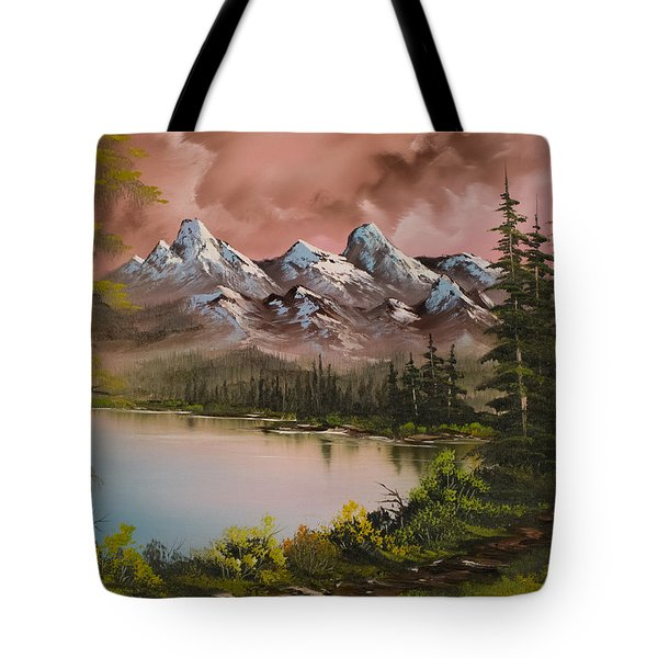 Autumn Storm Tote Bag by C Steele