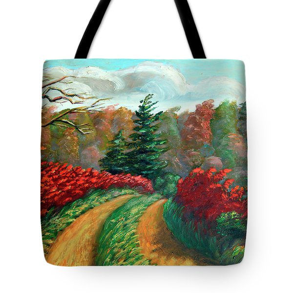 Autumn Trail Tote Bag by Otto Werner