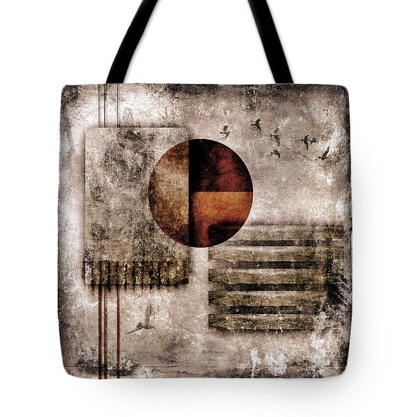 Autumnal Equinox Tote Bag by Carol Leigh