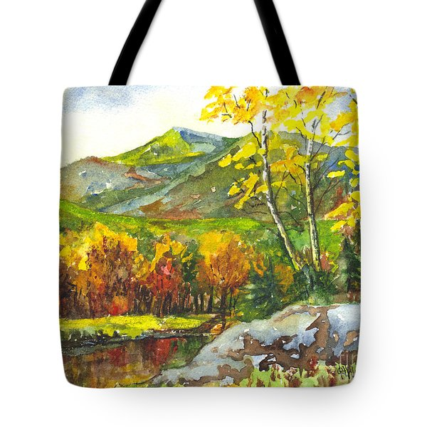 Autumn's Showpiece Tote Bag by Carol Wisniewski