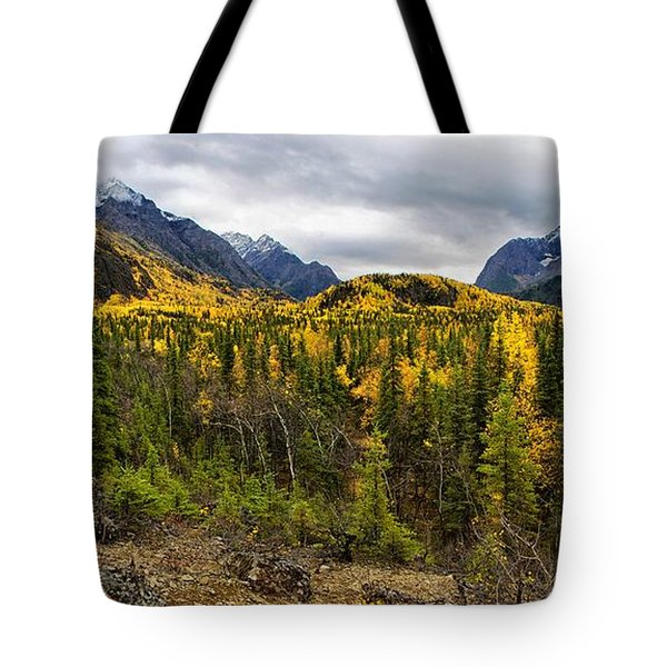 Autumn's Vista Tote Bag by Ed Boudreau