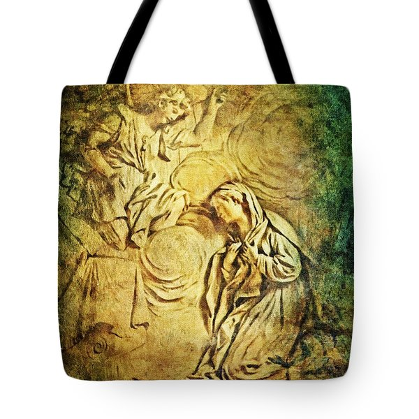 Ave Maria...Gratia Plena Tote Bag by Lianne Schneider