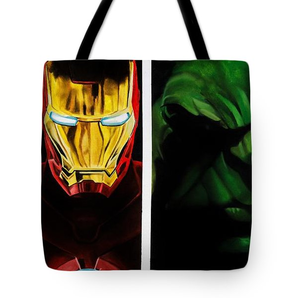 Avengers Tote Bag by Brian Broadway