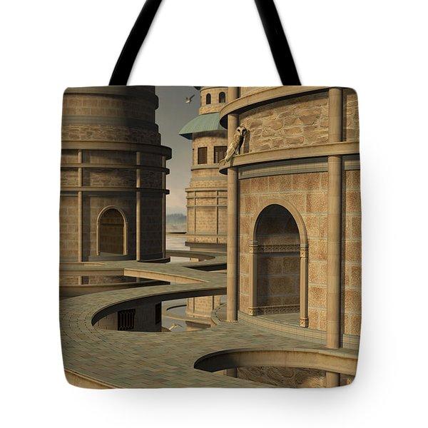 Aviary Tote Bag by Cynthia Decker
