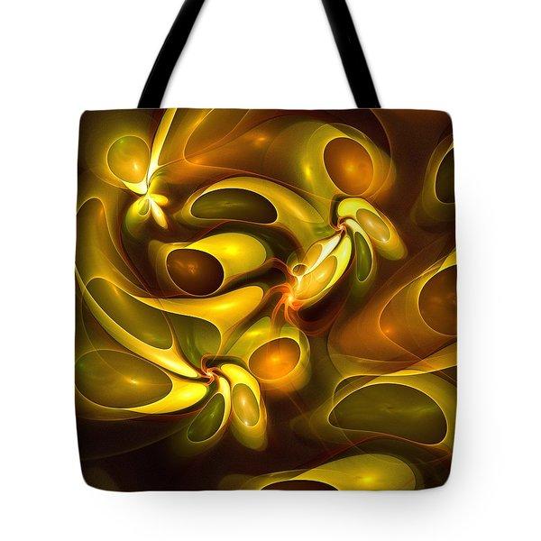 Avocado Fantasy Tote Bag by Anastasiya Malakhova