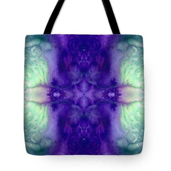 Awakening Spirit - Pattern Art By Sharon Cummings Tote Bag by Sharon Cummings