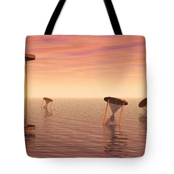 Awash in Time Tote Bag by Jerry McElroy