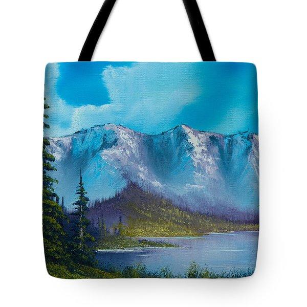 Azure Ridge Tote Bag by C Steele