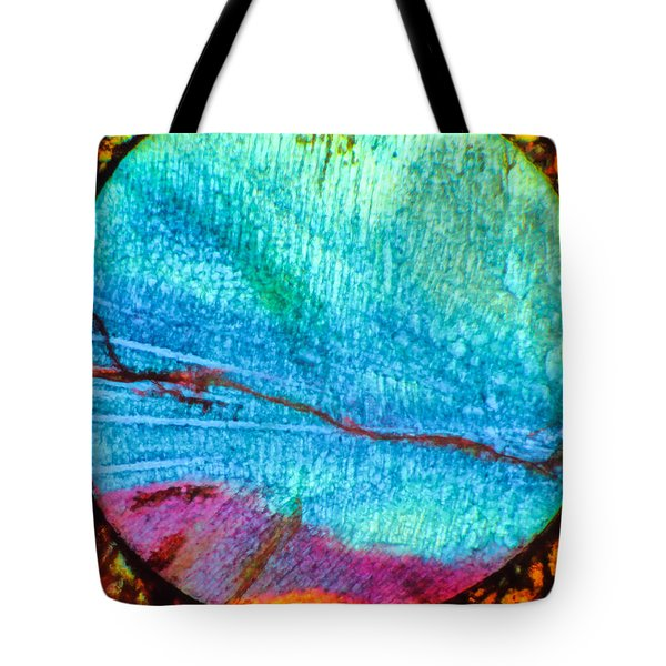 Azure Sunset Tote Bag by Tom Phillips