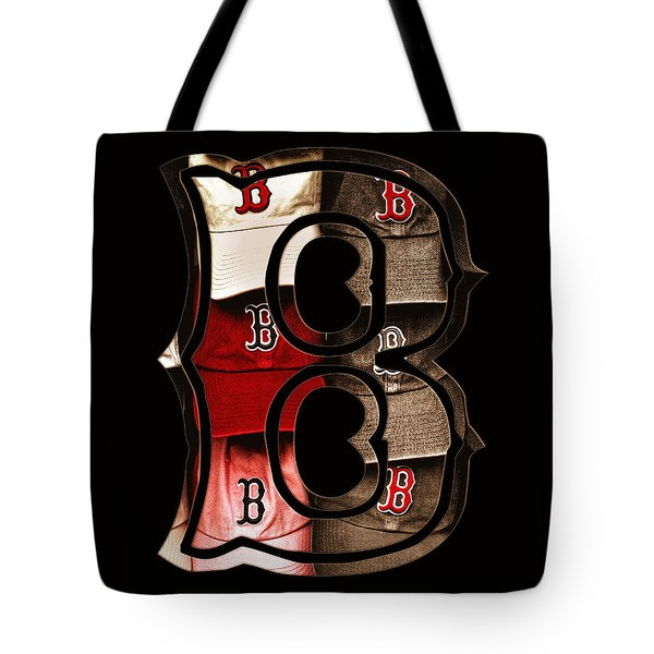 B For Bosox - Vintage Boston Poster Tote Bag by Joann Vitali