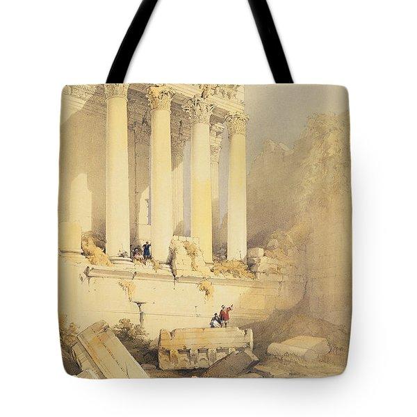 Baalbec Tote Bag by David Roberts